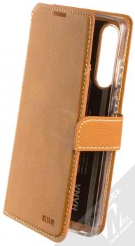 Molan Cano Issue Diary flipové pouzdro pro Huawei P30 hnědá (brown)