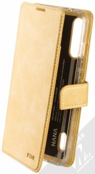 Molan Cano Issue Diary flipové pouzdro pro Xiaomi Mi A3 zlatá (gold)