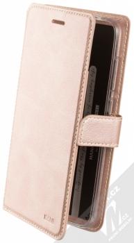 Molan Cano Issue Diary flipové pouzdro pro Xiaomi Pocophone F1 růžově zlatá (rose gold)