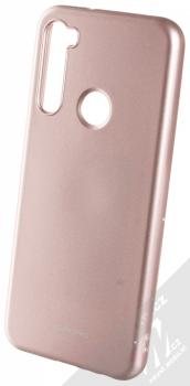 Molan Cano Jelly Case TPU ochranný kryt pro Xiaomi Redmi Note 8T růžově zlatá (rose gold)