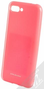 Molan Cano Jelly Case TPU ochranný kryt pro Honor 10 sytě růžová (hot pink)