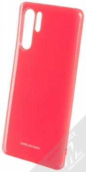 Molan Cano Jelly Case TPU ochranný kryt pro Huawei P30 Pro sytě růžová (hot pink)