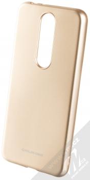 Molan Cano Jelly Case TPU ochranný kryt pro Nokia 5.1 Plus zlatá (gold)