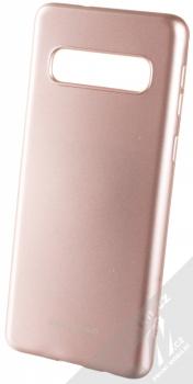 Molan Cano Jelly Case TPU ochranný kryt pro Samsung Galaxy S10 růžově zlatá (rose gold)