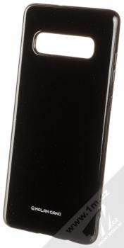 Molan Cano Jelly Case TPU ochranný kryt pro Samsung Galaxy S10 Plus černá (black)