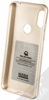 Molan Cano Jelly Case TPU ochranný kryt pro Xiaomi Redmi Note 6 Pro zlatá (gold) zepředu