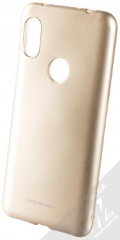 Molan Cano Jelly Case TPU ochranný kryt pro Xiaomi Redmi Note 6 Pro zlatá (gold)