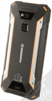 MYPHONE HAMMER ENERGY 18X9 oranžová černá (orange black) šikmo zezadu