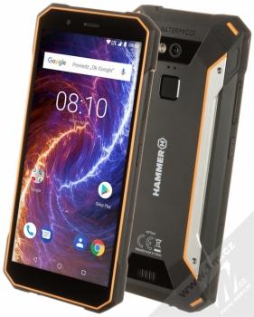 MYPHONE HAMMER ENERGY 18X9 oranžová černá (orange black)