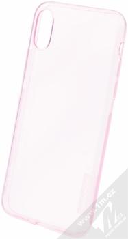Nillkin Nature TPU tenký gelový kryt pro Apple iPhone X růžová (transparent pink)