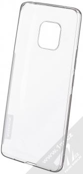 Nillkin Nature TPU tenký gelový kryt pro Huawei Mate 20 Pro šedá (transparent grey) zepředu
