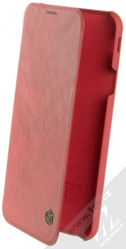 Nillkin Qin flipové pouzdro pro Samsung Galaxy J4 Plus (2018) červená (red)