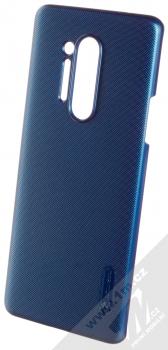 Nillkin Super Frosted Shield ochranný kryt pro OnePlus 8 Pro modrá (peacock blue)