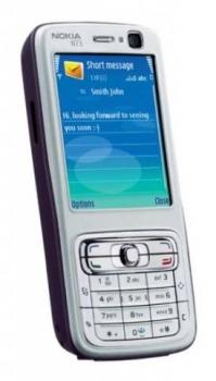 Nokia N73 z boku