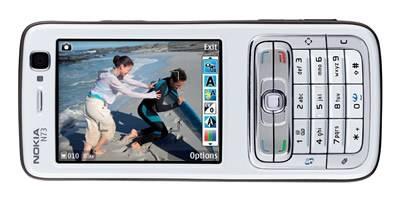 Nokia N73 plum silver