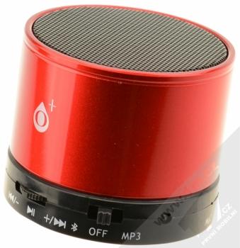 O+ MS100 Bluetooth reproduktor červená (red)