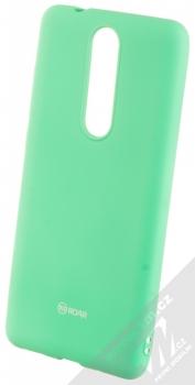 Roar All Day TPU ochranný kryt pro Nokia 5.1 mátově zelená (mint green)