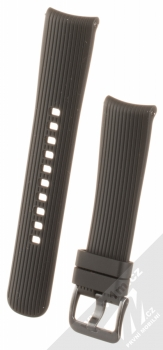 Samsung Deco Strap silikonový pásek na zápěstí pro Samsung Galaxy Watch 42mm černá (black)