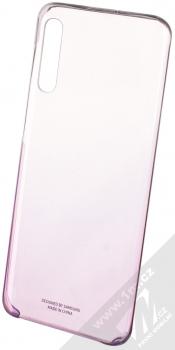 Samsung EF-AA505CV Gradation Cover originální ochranný kryt pro Samsung Galaxy A50 fialová průhledná (violet transparent)