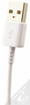 Samsung EP-LN915UW originální nabíječka do auta Adaptive Fast Charging s USB výstupem 9V/1,67A + Samsung EP-DN930CWE originální USB kabel s USB Type-C bílá (white) USB konektor
