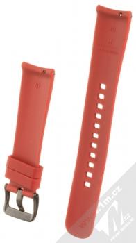Samsung ET-YSU81MR Active Silicone Band silikonový pásek na zápěstí pro Samsung Galaxy Watch 42mm, Gear Sport červená (red) zezadu