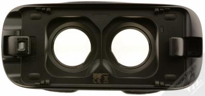 Samsung SM-R325 Gear VR with Controller (2018) originální chytré brýle pro virtuální realitu s ovladačem fialovošedá (orchid gray) místo pro telefon zepředu
