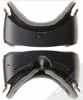 Samsung SM-R325 Gear VR with Controller (2018) originální chytré brýle pro virtuální realitu s ovladačem fialovošedá (orchid gray) seshora a zezdola