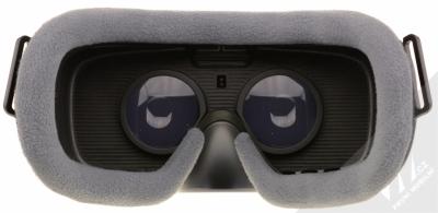 Samsung SM-R325 Gear VR with Controller (2018) originální chytré brýle pro virtuální realitu s ovladačem fialovošedá (orchid gray) zezadu