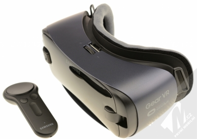 Samsung SM-R325 Gear VR with Controller (2018) originální chytré brýle pro virtuální realitu s ovladačem fialovošedá (orchid gray)
