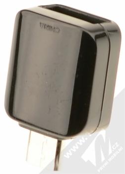 Samsung USB Connector - OTG redukce z Type-C konektoru na USB port černá (black) zezadu