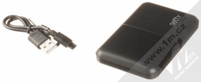 Setty Travel Battery záložní zdroj 5000mAh černá (black) balení