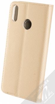 Sligo Smart Magnet flipové pouzdro pro Honor 8X zlatá (gold) zezadu