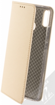 Sligo Smart Magnet flipové pouzdro pro Honor 8X zlatá (gold)