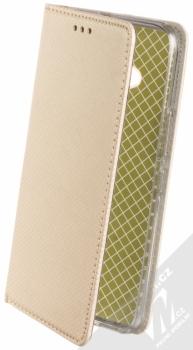 Sligo Smart Magnet flipové pouzdro pro HTC U11 Life zlatá (gold)