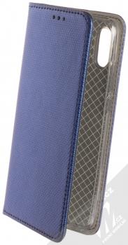 Sligo Smart Magnet flipové pouzdro pro Huawei P Smart (2019) tmavě modrá (dark blue)