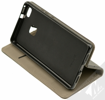 Sligo Smart Magnet flipové pouzdro pro Huawei P9 Lite černá (black) stojánek