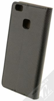 Sligo Smart Magnet flipové pouzdro pro Huawei P9 Lite černá (black) zezadu
