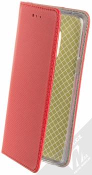 Sligo Smart Magnet flipové pouzdro pro Samsung Galaxy S9 červená (red)
