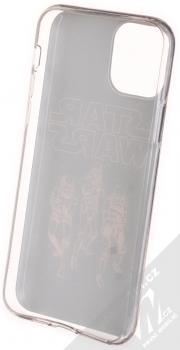 Star Wars Jednotka Stormtrooperů 005 TPU ochranný silikonový kryt s motivem pro Apple iPhone 11 Pro tmavě modrá (dark blue) zepředu