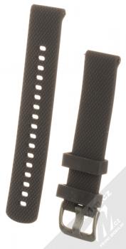 Tactical Diamond Color Strap silikonový pásek na zápěstí s univerzální osičkou 18mm černá (black)