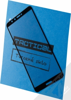Tactical Tempered Glass ochranné tvrzené sklo na kompletní displej pro Huawei Y9 (2018) černá (black)
