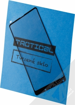 Tactical Tempered Glass ochranné tvrzené sklo na kompletní displej pro Xiaomi Mi Mix 2 černá (black)