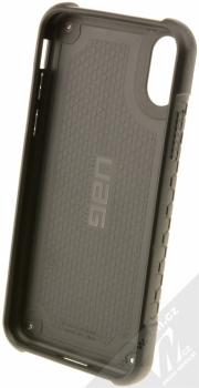 UAG Monarch odolný ochranný kryt pro Apple iPhone X černá (all black) zepředu