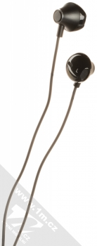 USAMS EP-32 Metal Earphone stereo sluchátka s rozdvojkou Apple Lightning konektoru černá (black) sluchátka
