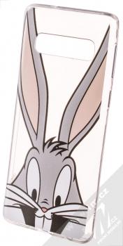 Warner Bros Looney Tunes Bugs Bunny 001 TPU ochranný silikonový kryt s motivem pro Samsung Galaxy S10 průhledná (transparent)