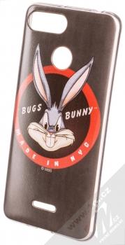 Warner Bros Looney Tunes Bugs Bunny 006 TPU ochranný silikonový kryt s motivem pro Xiaomi Redmi 6 černá (black)