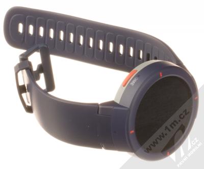 Xiaomi Amazfit Verge chytré hodinky modrá (blue) rozepnuté