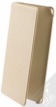 Xiaomi Perforated Flip Case originální flipové pouzdro pro Xiaomi Redmi Note 4 (Global Version) zlatá (gold)