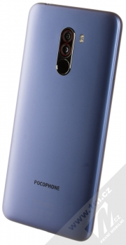 Xiaomi Pocophone F1 6GB/128GB modrá (steel blue) šikmo zezadu