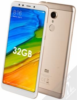 Xiaomi Redmi 5 3GB/32GB Global Version CZ LTE + MINI SELFIE TYČKA Setty Mini Selfie Stick v ceně 349Kč ZDARMA zlatá (gold)